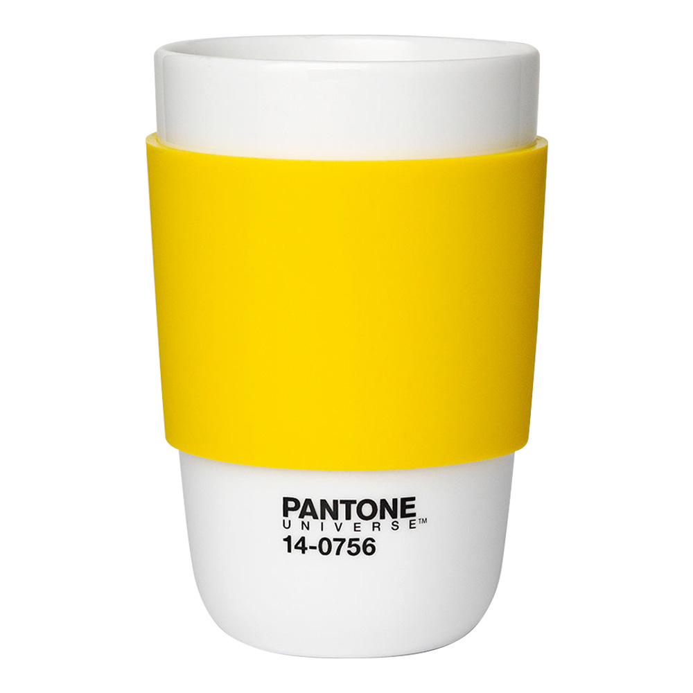 Pantone Porcelain Classic Cup Empire Yellow