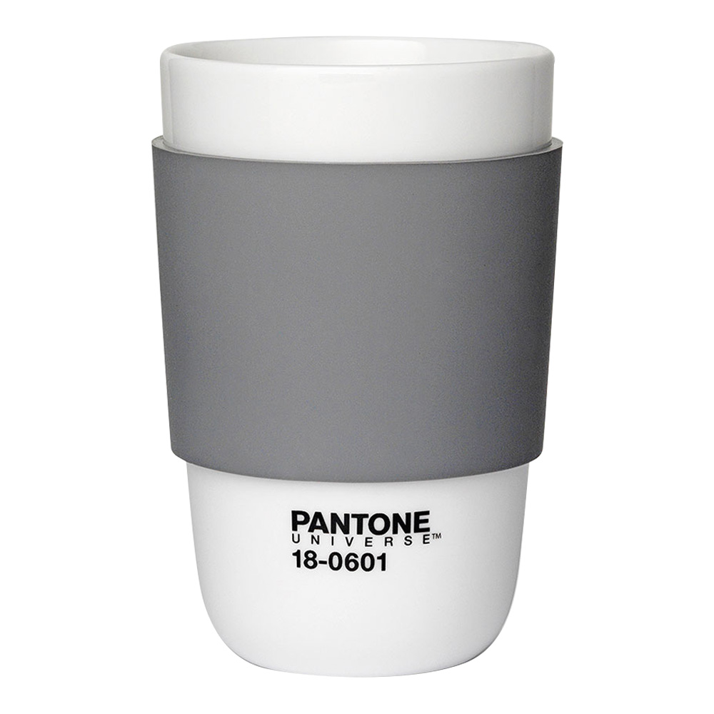 Pantone Porcelain Classic Cup Charcoal Gray
