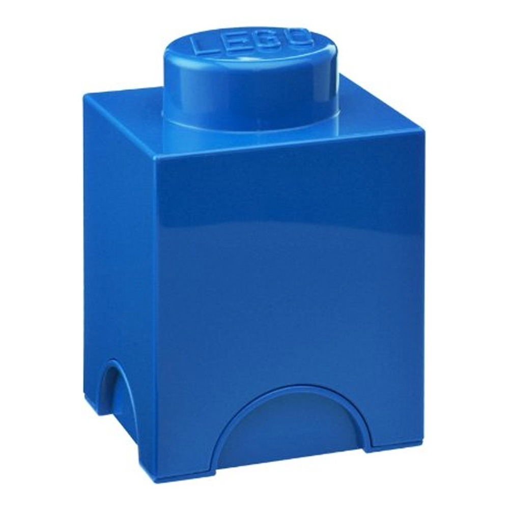Lego Storage Brick 1 Small Blue