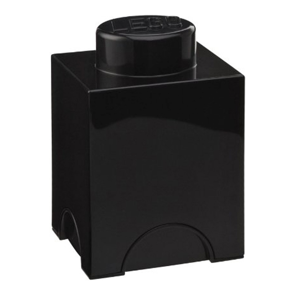 Lego Storage Brick 1 Small Black