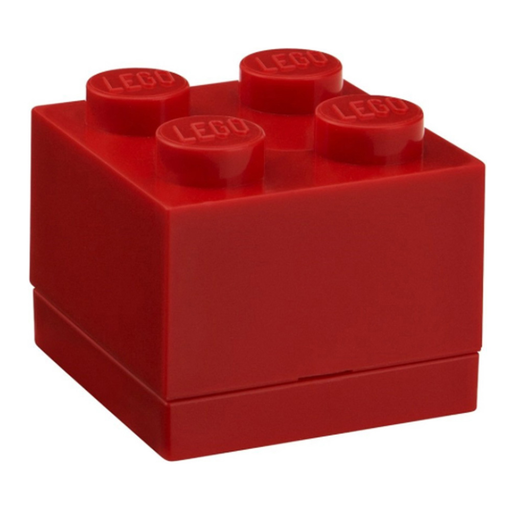 Lego Lunch Mini Box 4 Red
