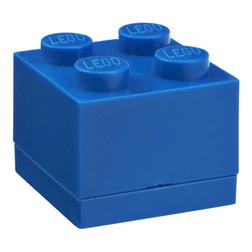 Lego Lunch Mini Box 4 Blue