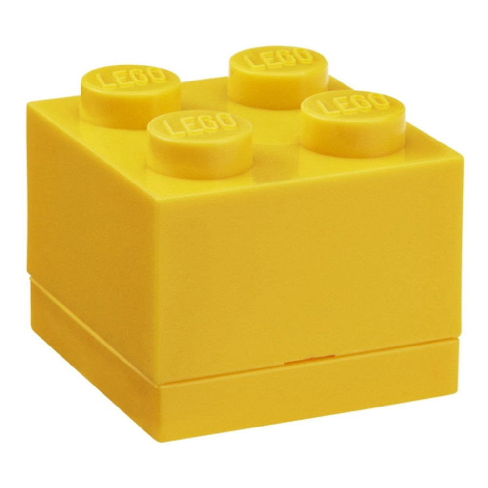Lego Lunch Mini Box 4 Yellow