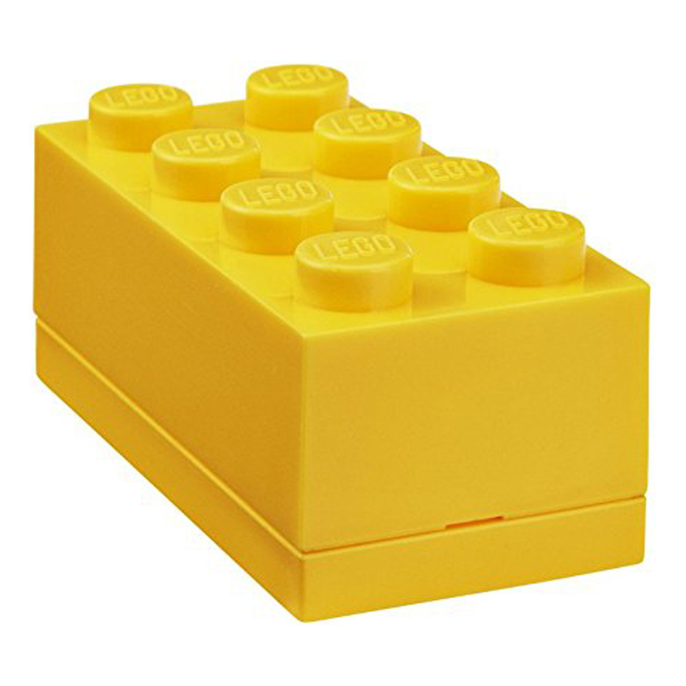 Lego Lunch Mini Box 8 Yellow