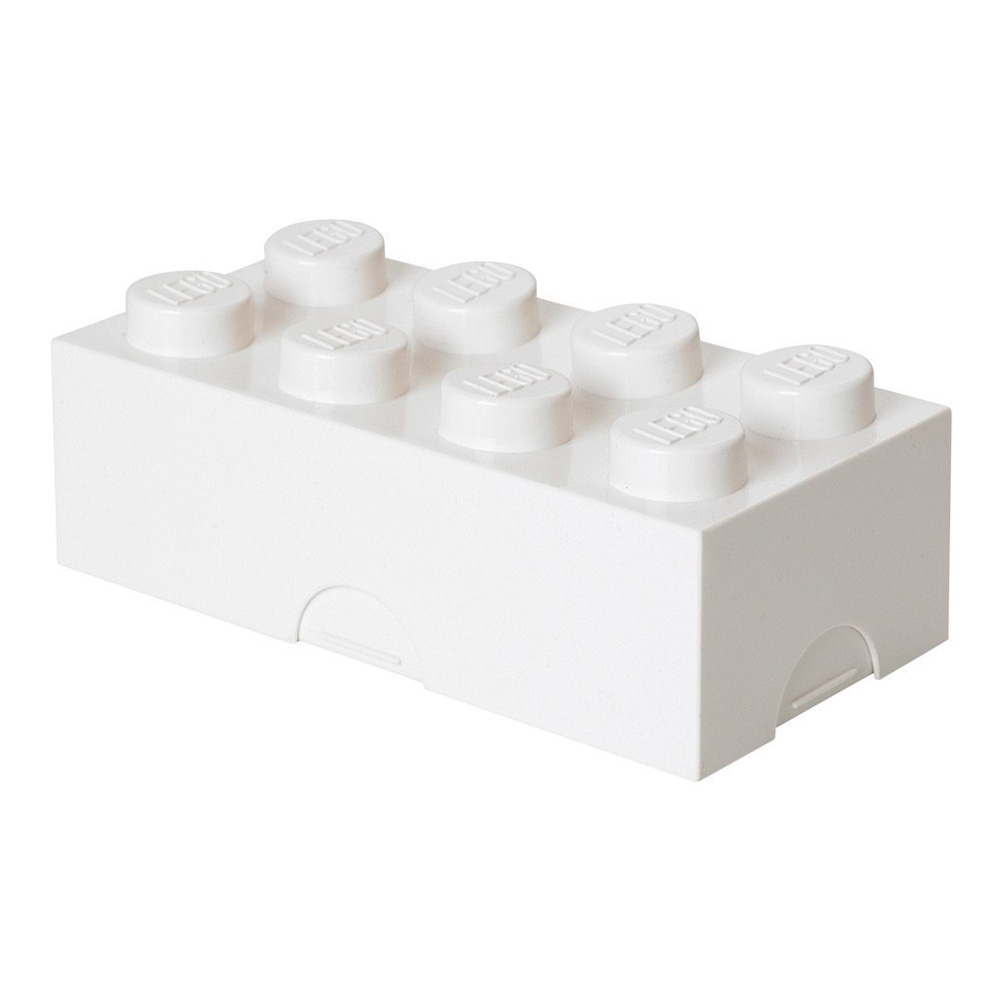 Lego Lunch Box White