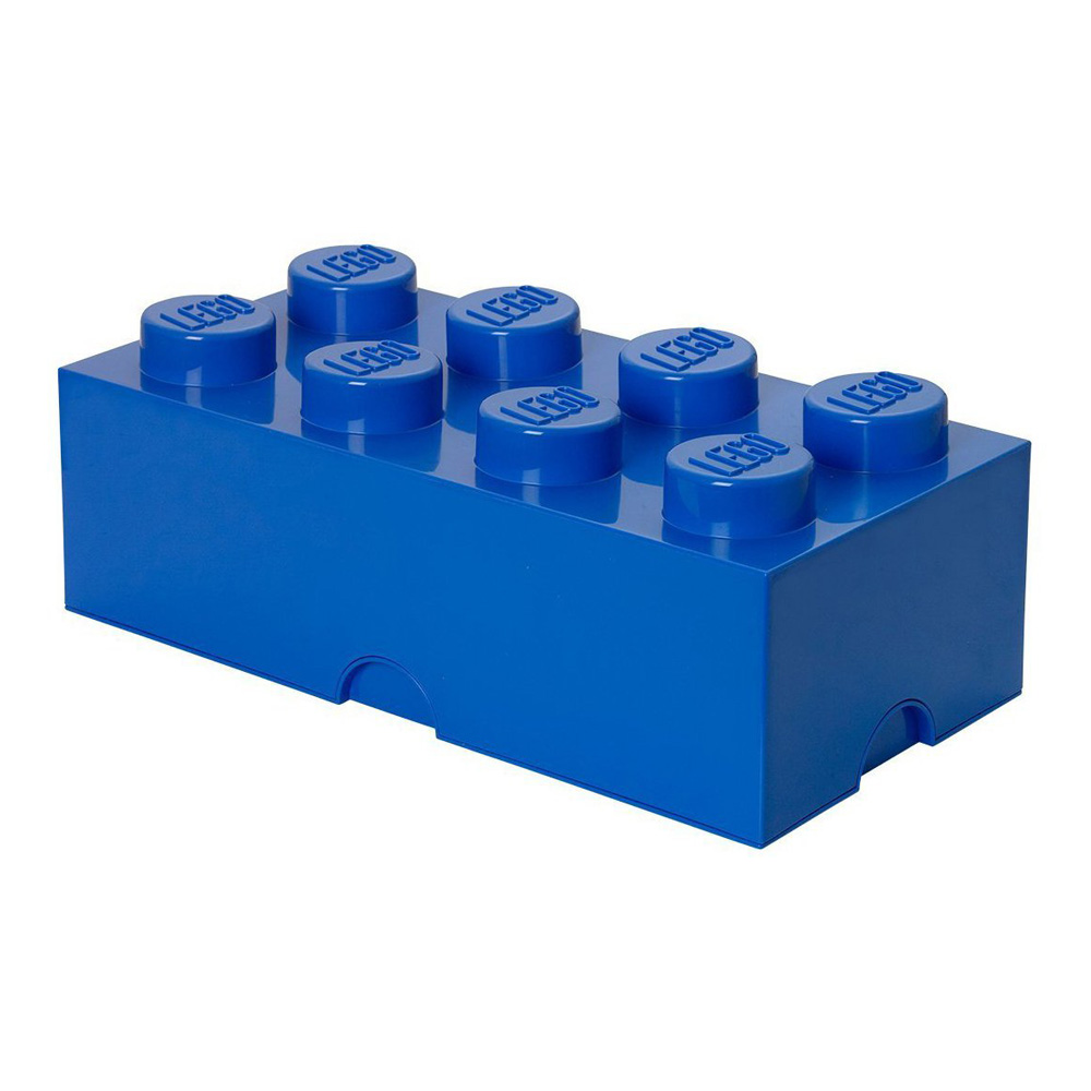 Lego Storage Brick 8 Large Blue