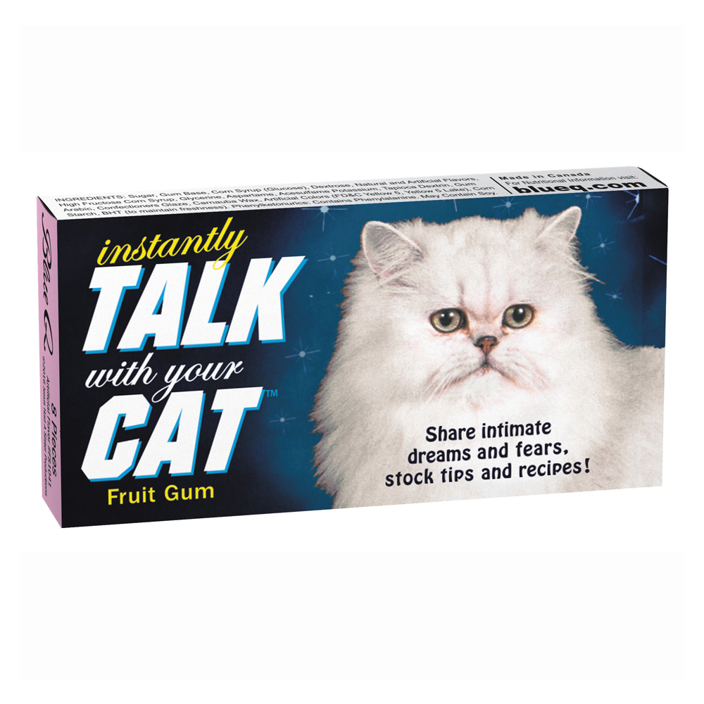 Blue Q Gum Talk With Your Cat