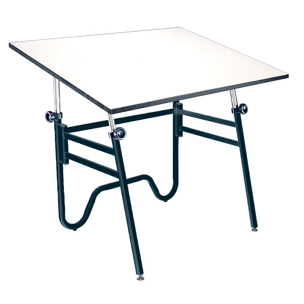Alvin Opal Table 24X36 Black Base