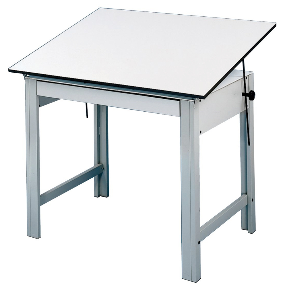 Designmaster Table 37.5X60 Gray *OS3