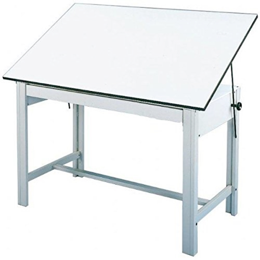 Designmaster Table 37.5X72 Gray *OS3