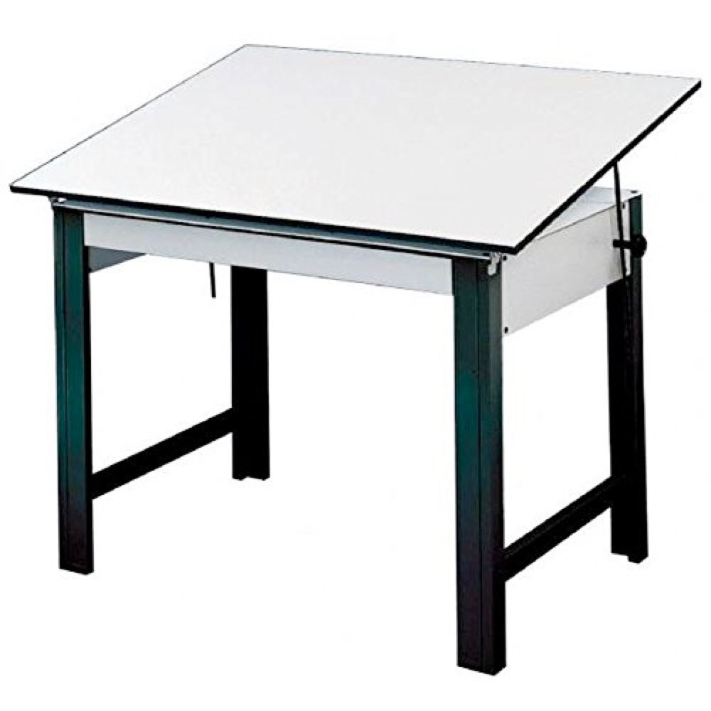 Designmaster Table 37.5X72 Black *OS3