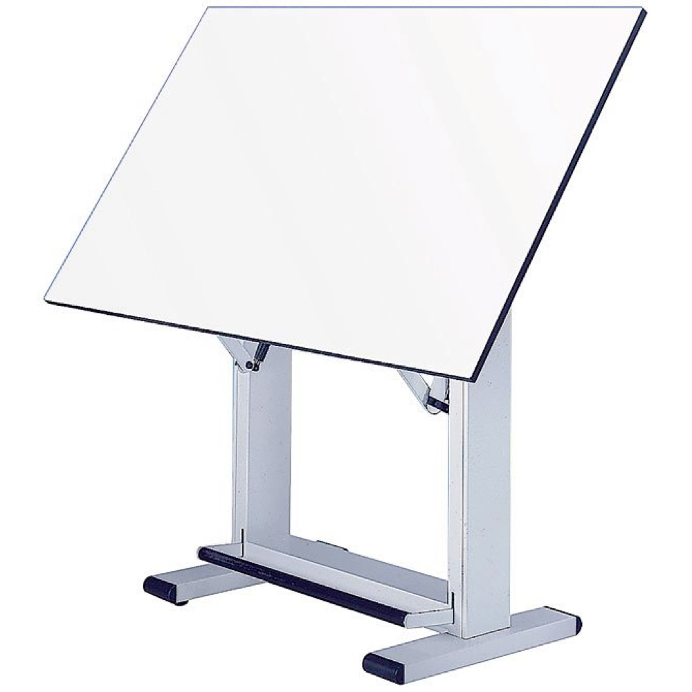Alvin Elite Table 37.5X60 White Base *OS3