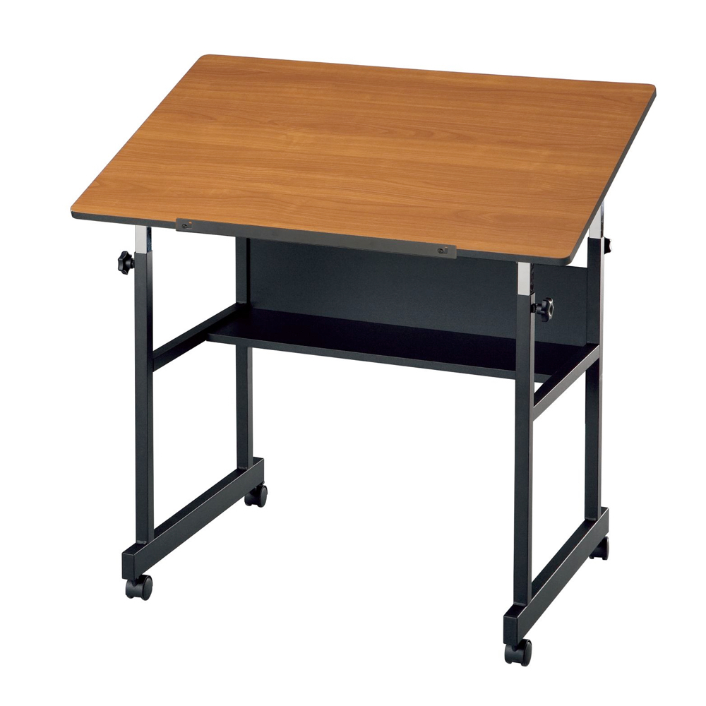 Alvin Minimaster Table Woodgrain *OS1