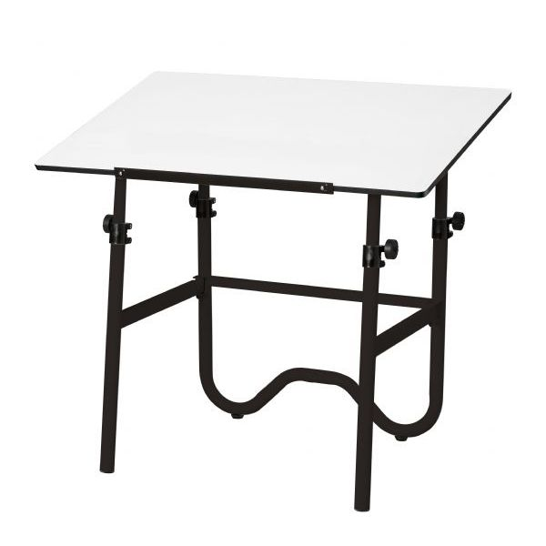 Alvin Onyx Table 30X42 Black Base *OS1