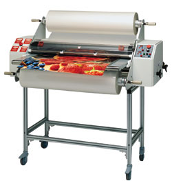 Ledco Digital 44 Dual Hot Roll W/Feed Table