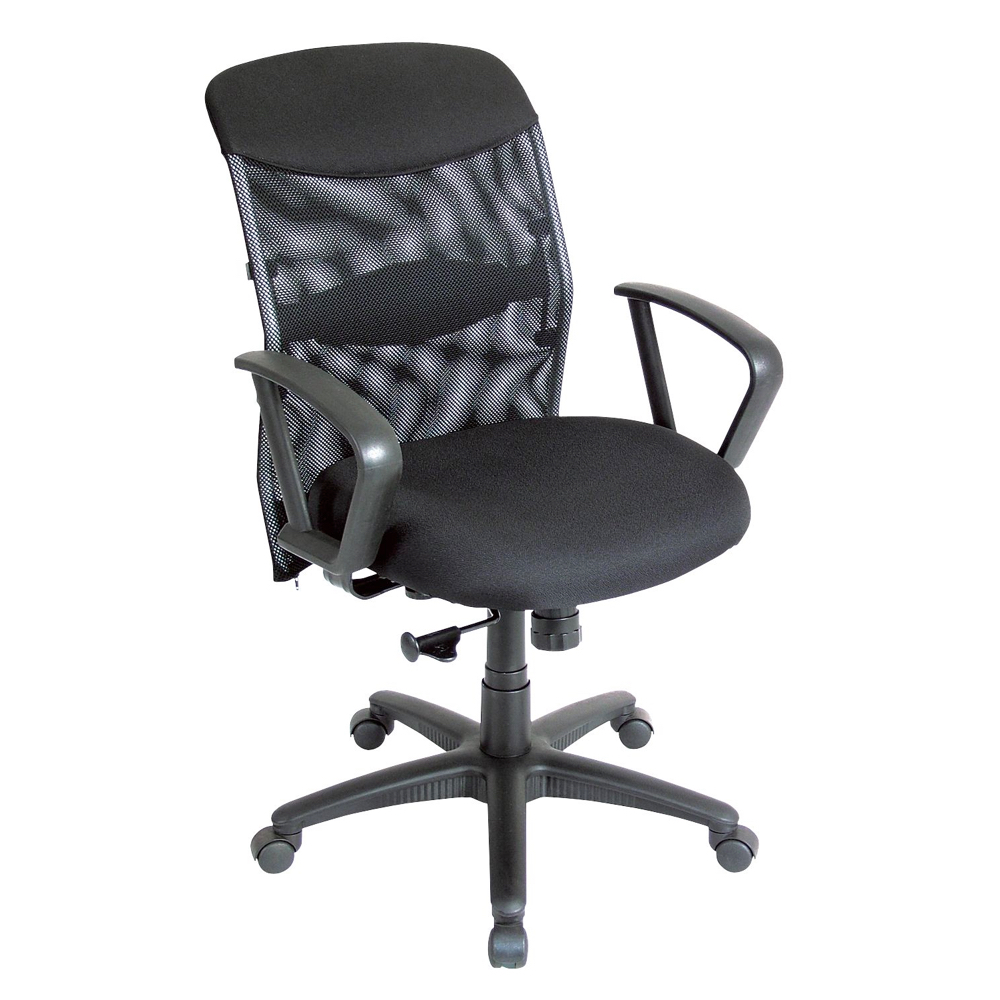 Alvin Ch726 Salambro Mesh Managers Chair Blk