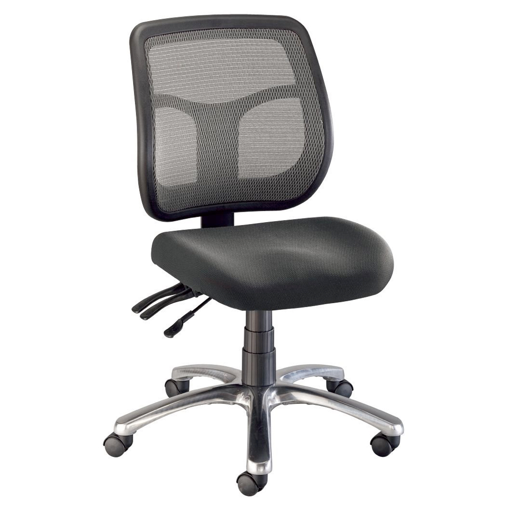 Argentum Mesh Back Chair Office Height