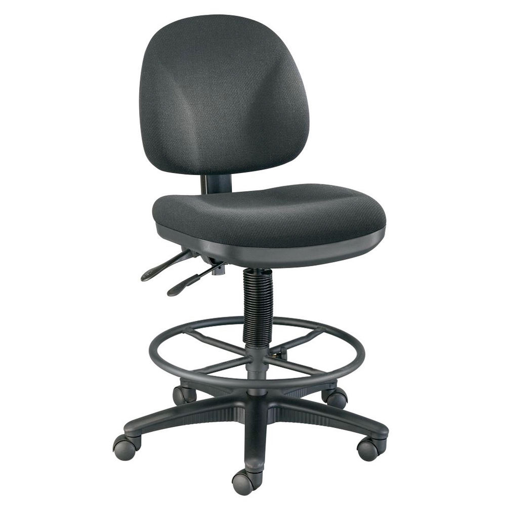 Prestige Drafting Chair Black Foot Ring *OS1
