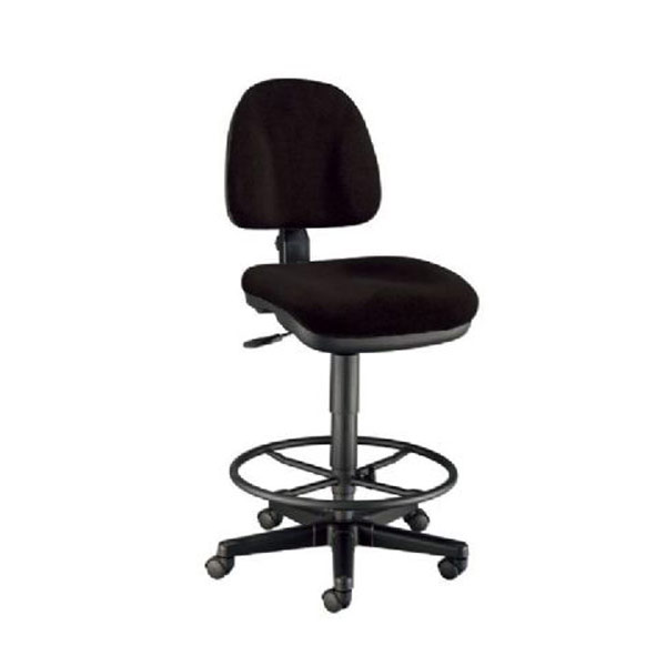 Premo Ergonomic Drafting Chair Black