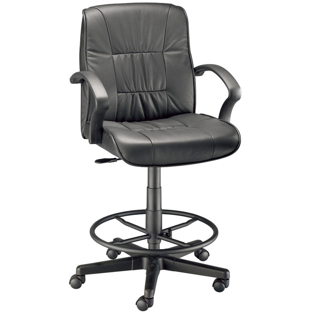 Art Director Executive Leather Drafting Chair
