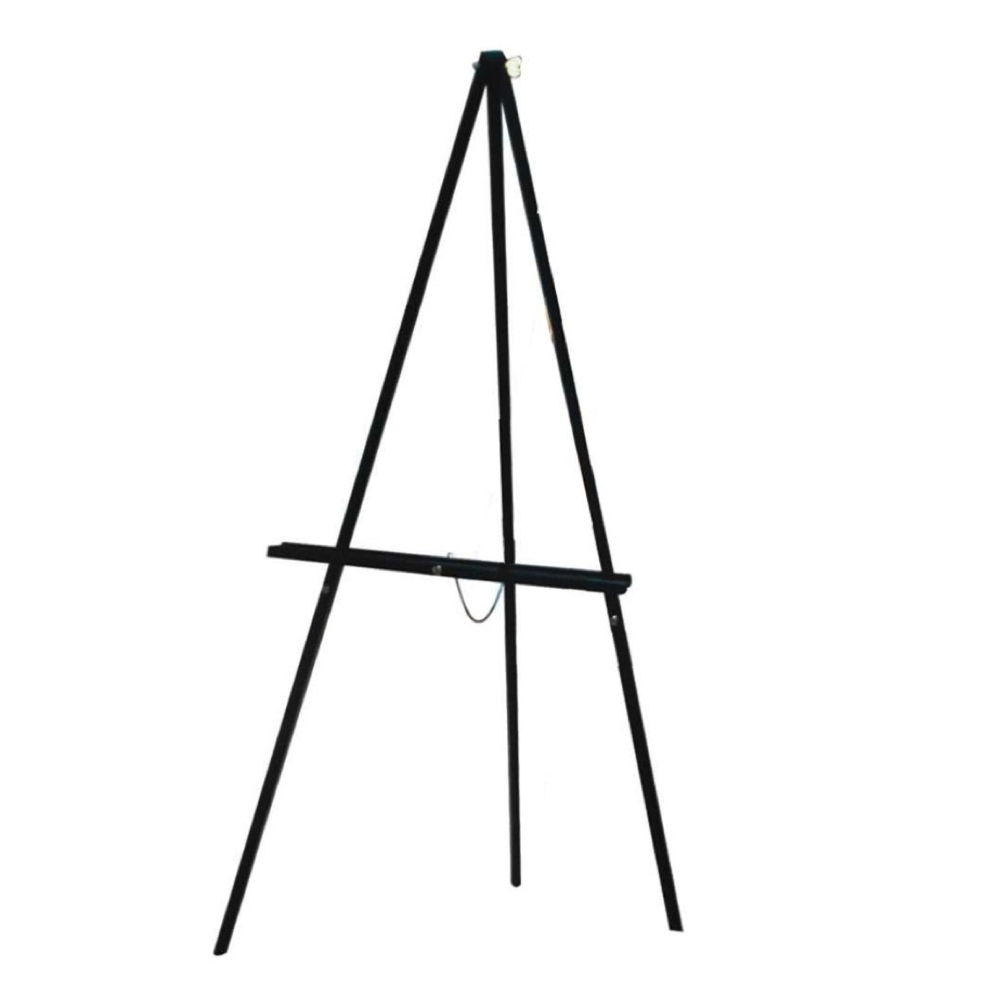 Aa Sketching/Display Easel Black