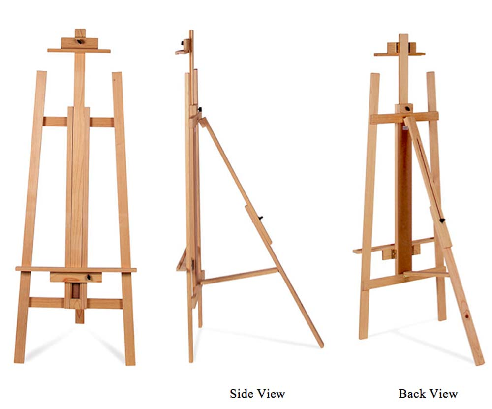 Richeson Adjustable Pine Easel