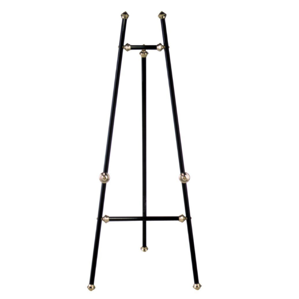 Baroque Display Easel Brass