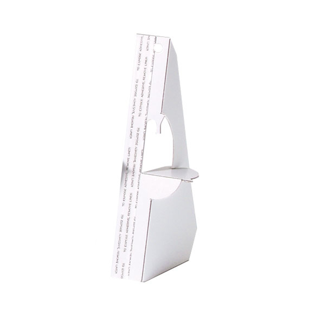 Lineco White Self-Stick Easel Back 12In Pkg/5