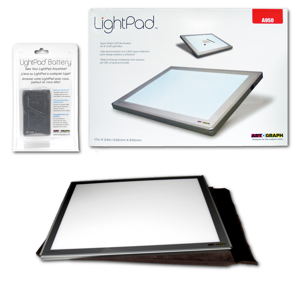 Artograph Led Lightpad 17X24 A950 W Batt Pack