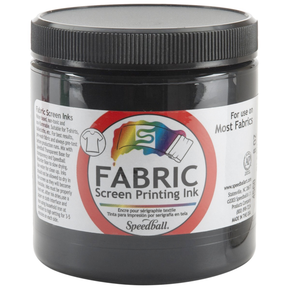 Speedball Screen Prtg Ink 8 Oz Black