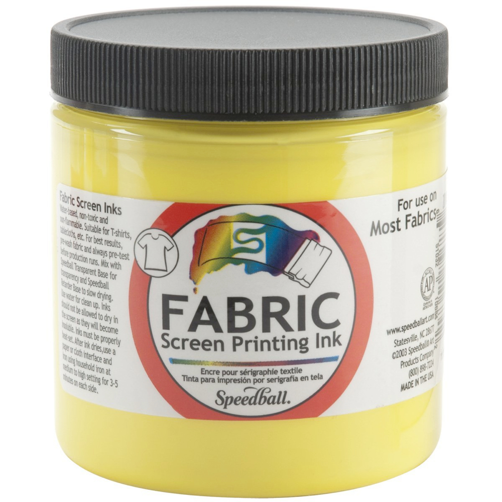 Speedball Screen Prtg Ink 8 Oz Process Yellow
