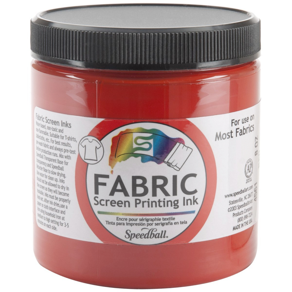 Speedball Screen Prtg Ink 32 Oz Red