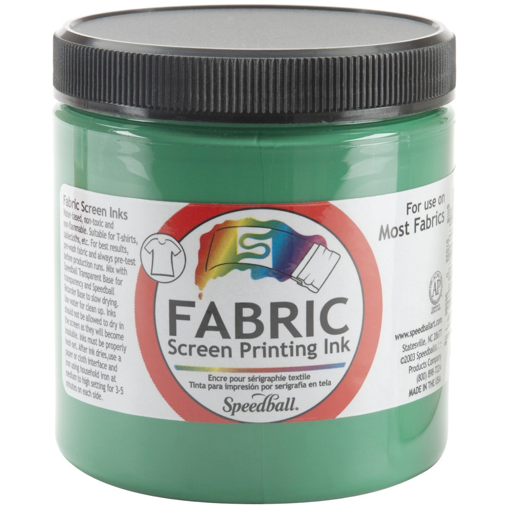 Speedball Screen Prtg Ink 8 Oz Green