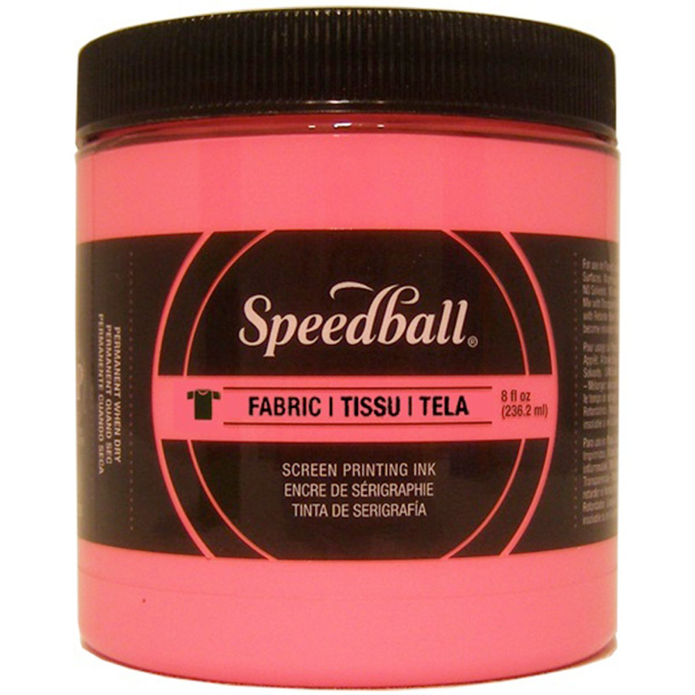 Speedball Screen Prtg Ink 8 Oz Hot Pink