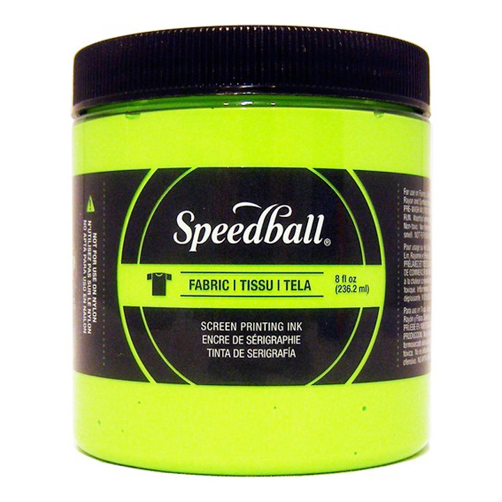 Speedball Screen Prtg Ink 8 Oz Lime Green
