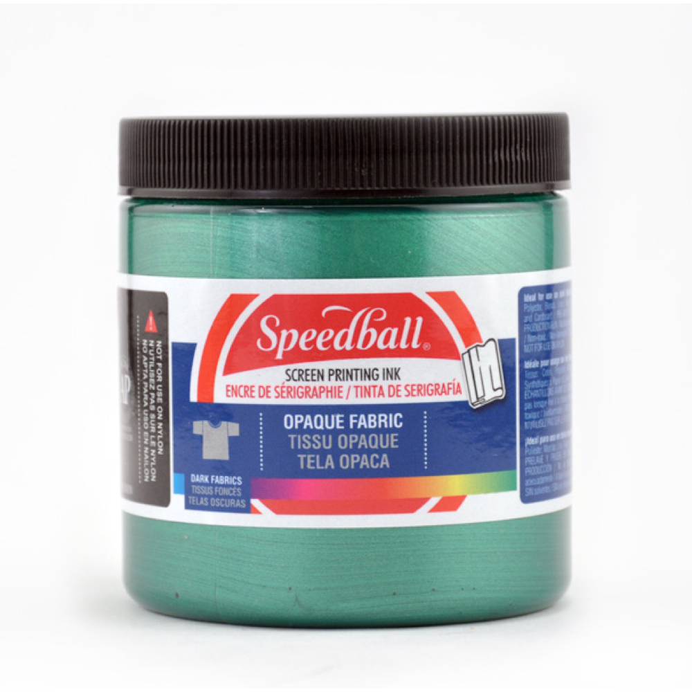 Speedball Screen Prtg Ink 8 Oz Opq. Emerald