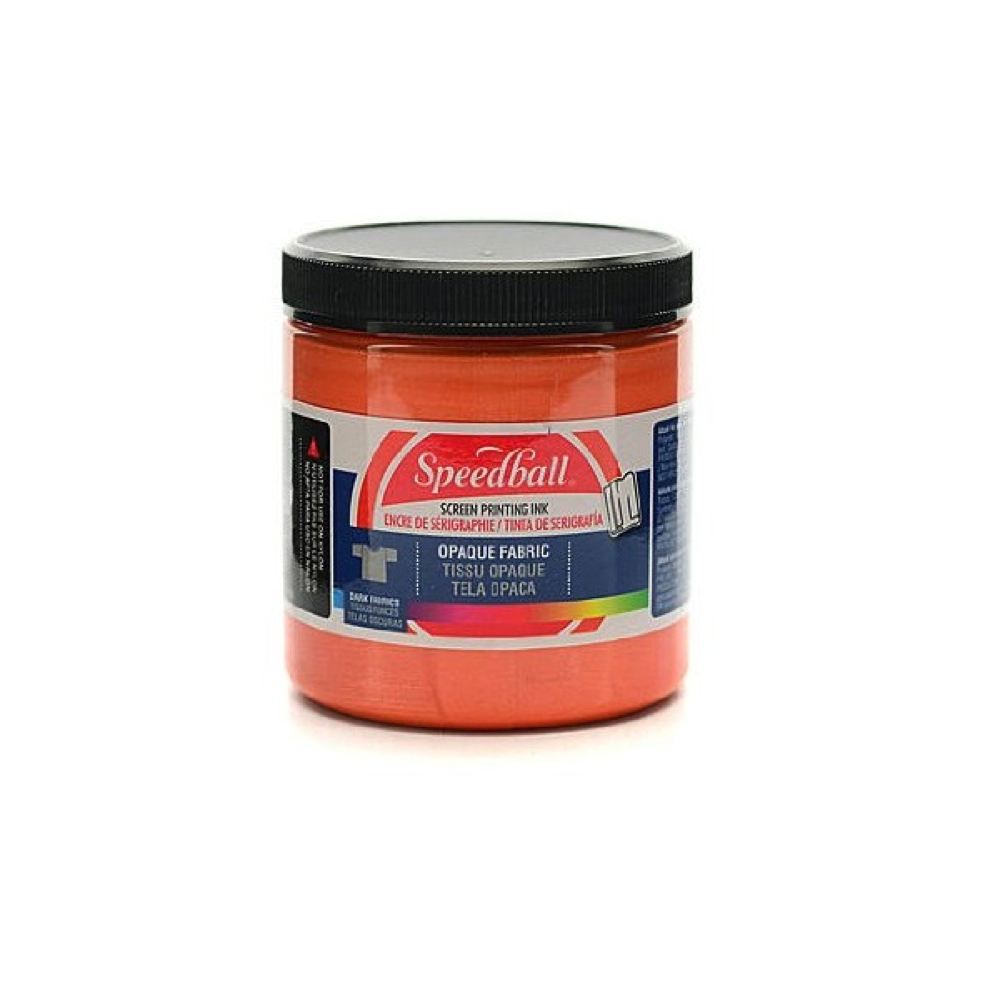 Speedball Screen Prtg Ink 8 Oz Opq. Sherbet