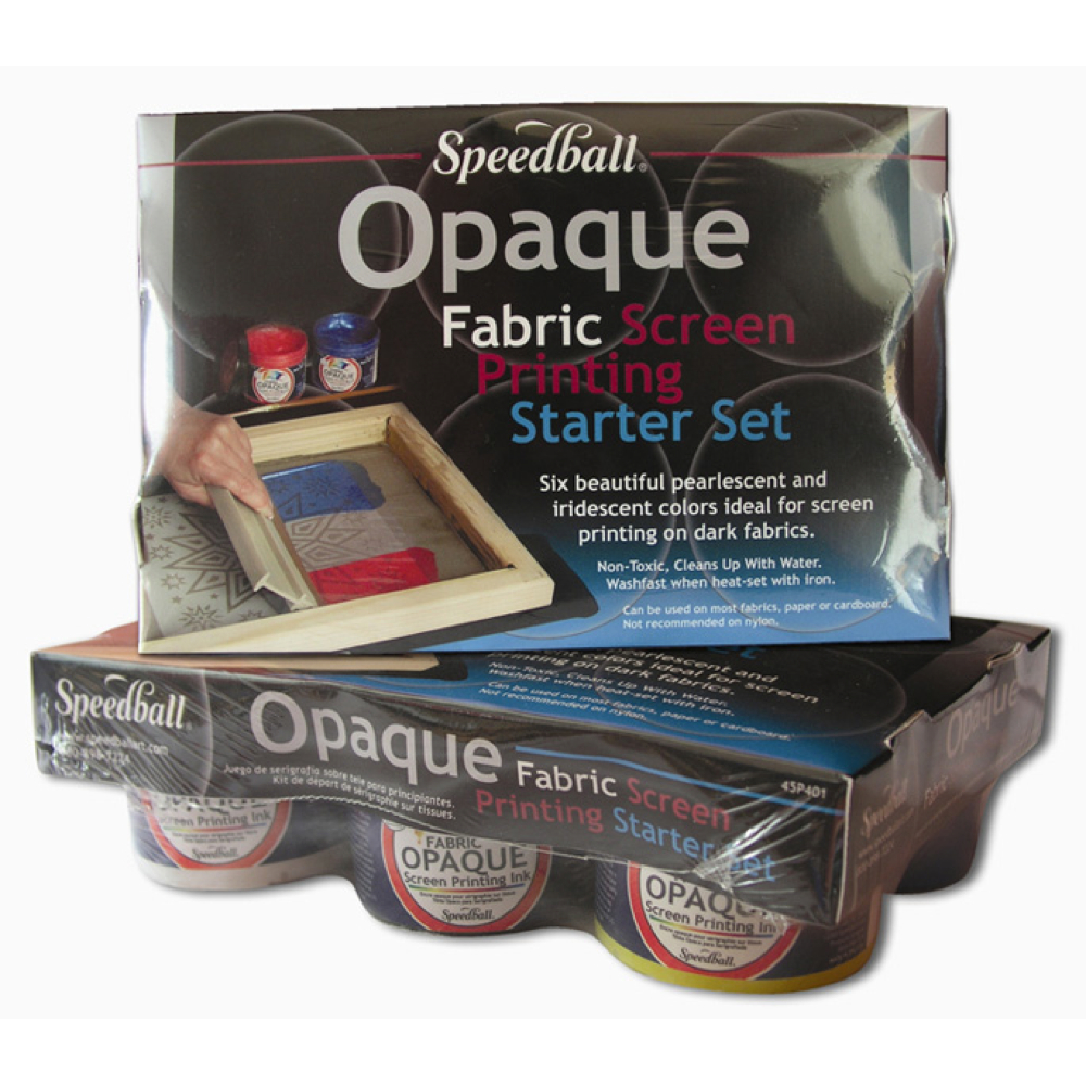 Speedball Screen Prtg Opaque Ink Starter Set