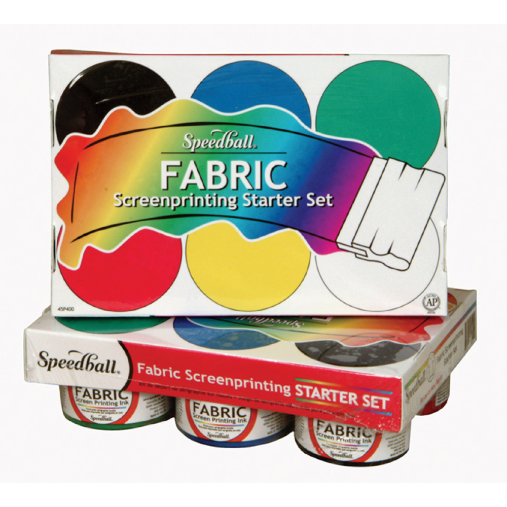 Speedball 4504 Fabric Screenprint Starter Set