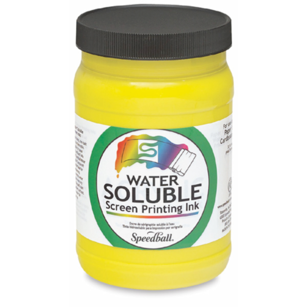 Watersoluble Screen Ink 32 Oz Yellow