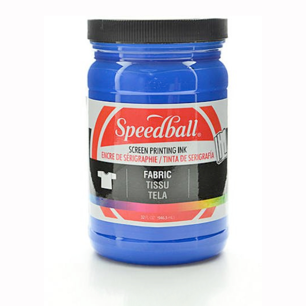 Speedball Screen Prtg Ink 32 Oz Blue