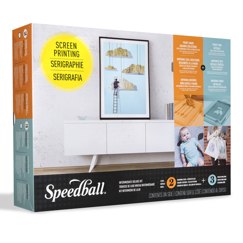 Speedball Intermediate Deluxe Scrn Prnt Kit