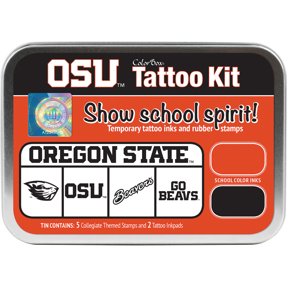 Collegiate Tattoo Kit Oregon State Univ