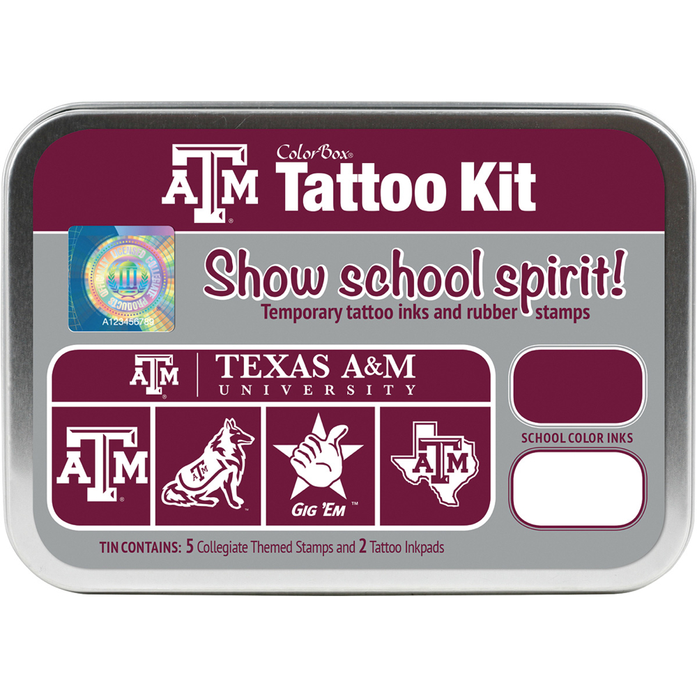 Collegiate Tattoo Kit Texas A And M