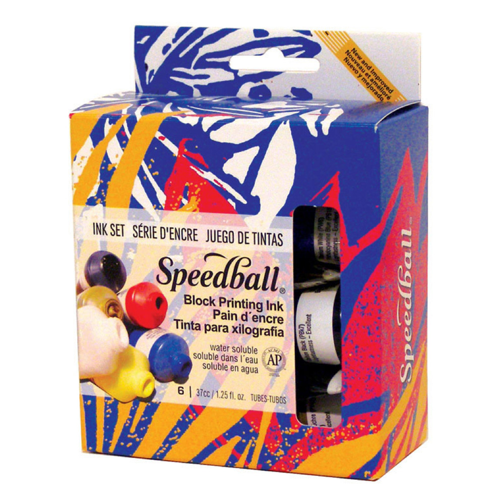 Speedball 3470 Block Ink Starter Set