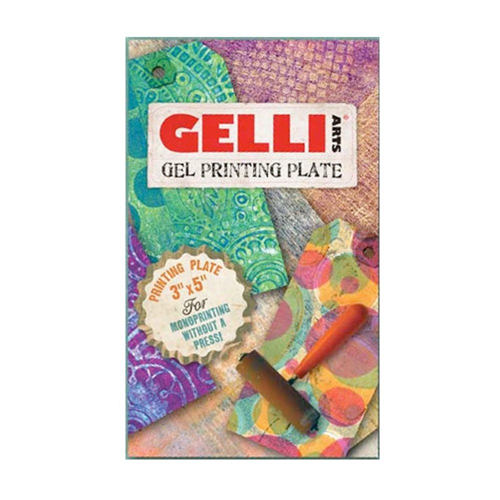 Gelli Arts Gel Printing Plate 3X5 Inches