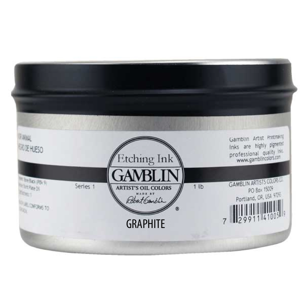 Gamblin Etching Ink Graphite 1 Lb