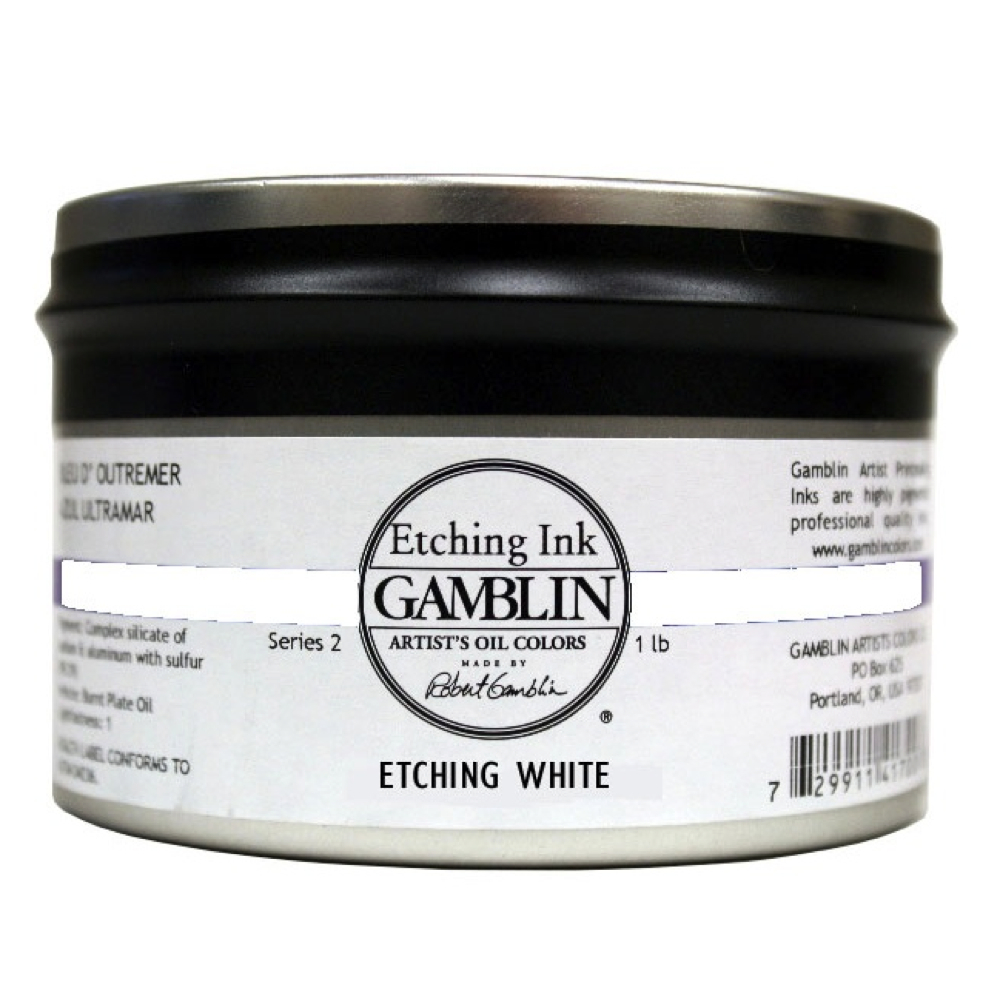 Gamblin Etching Ink Etching White 1 Lb