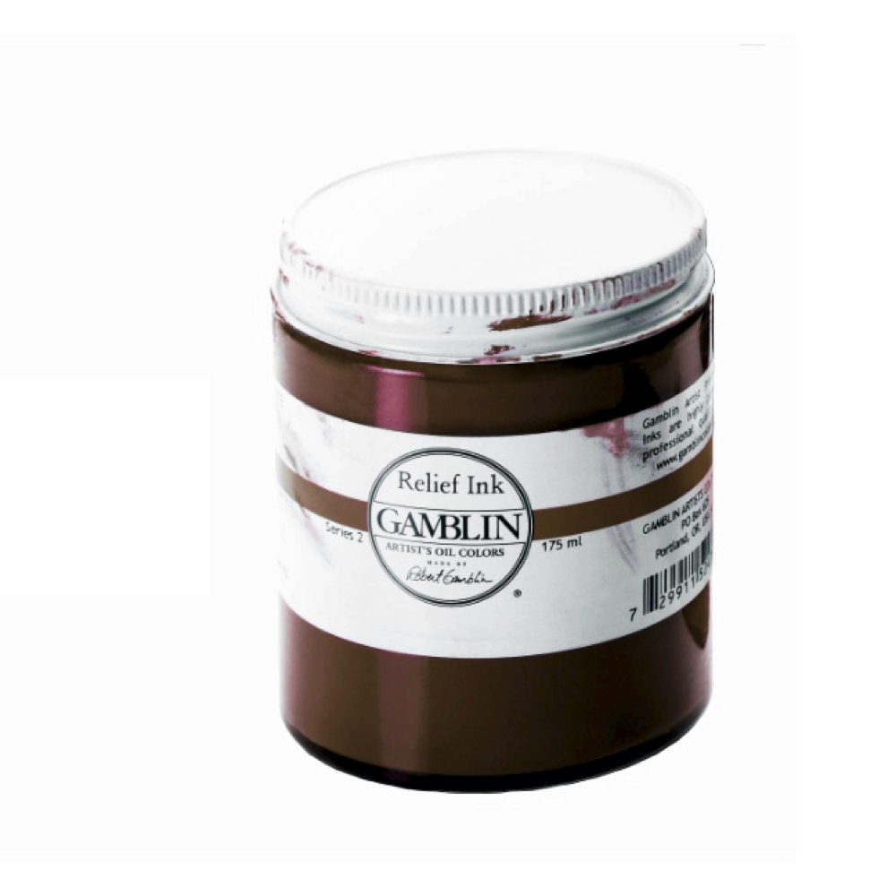 Gamblin Relief Ink Sepia 175Ml