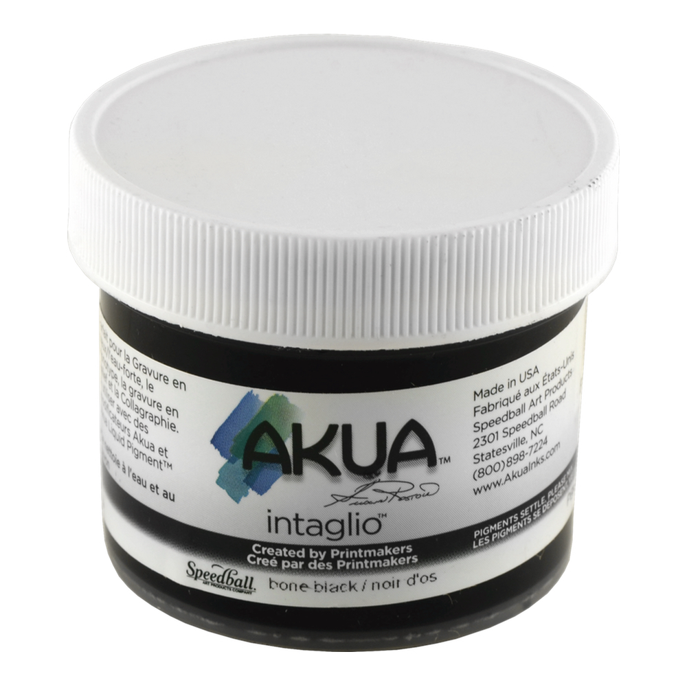 Akua Intaglio Ink 2 Oz Bone Black